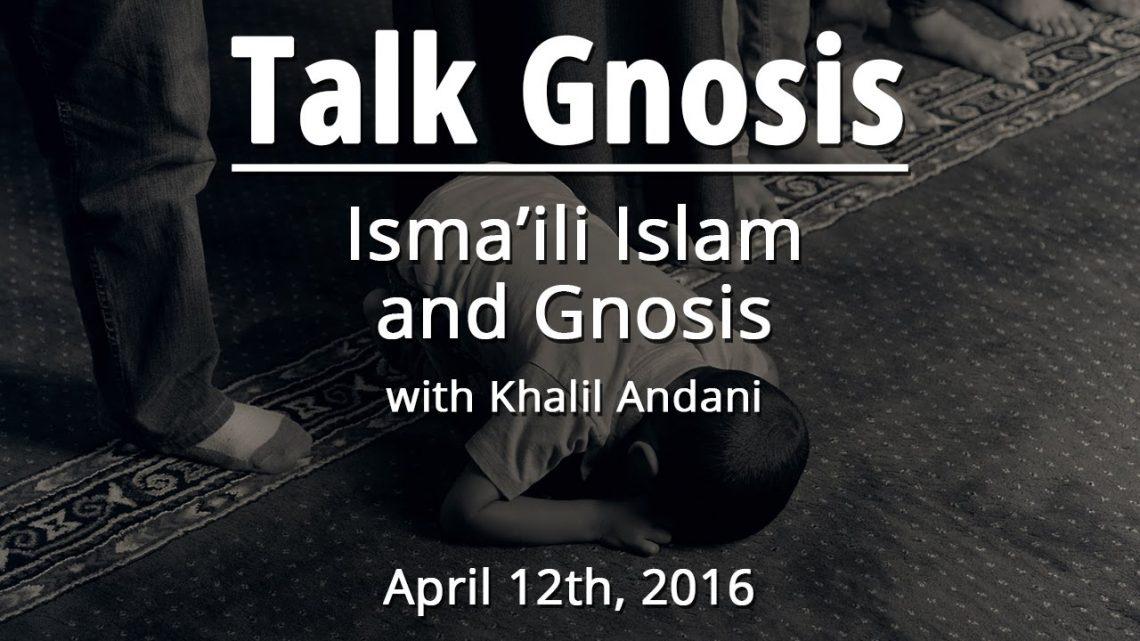 [Talk Gnosis] The Mystical Crucifixion in Ismaili Islam
